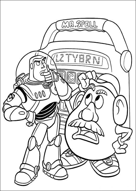 PC Technical - Buzz Lightyear y el Señor Cara de Papa de Toy Story ...